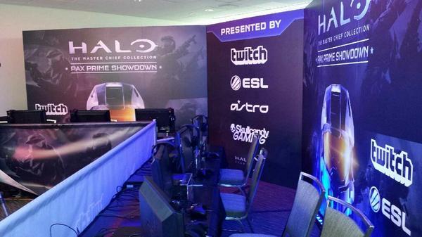 Twitch Halo set-up