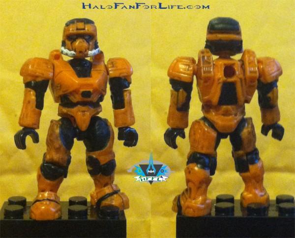 UNSC Combat Orange Unit Spartan EOD