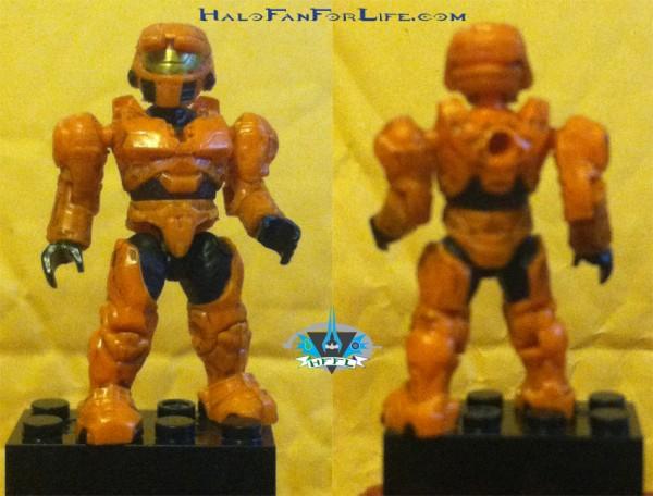 UNSC Combat Orange Unit Spartan Mark IV