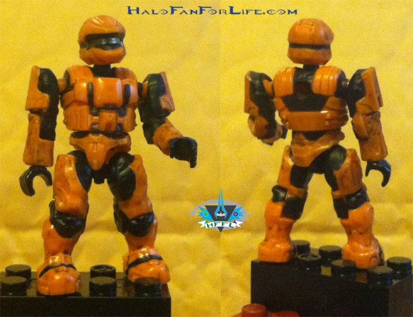 UNSC Combat Orange Unit Spartan Scout