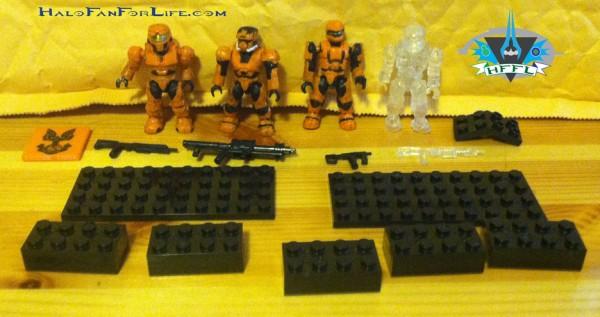 UNSC Combat Orange Unit contents
