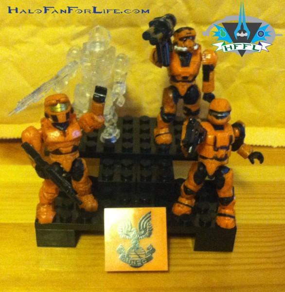 UNSC Combat Orange Unit squad