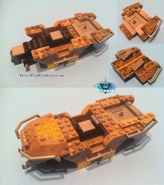 UNSC Gauss Hog Chassis 2nd steps