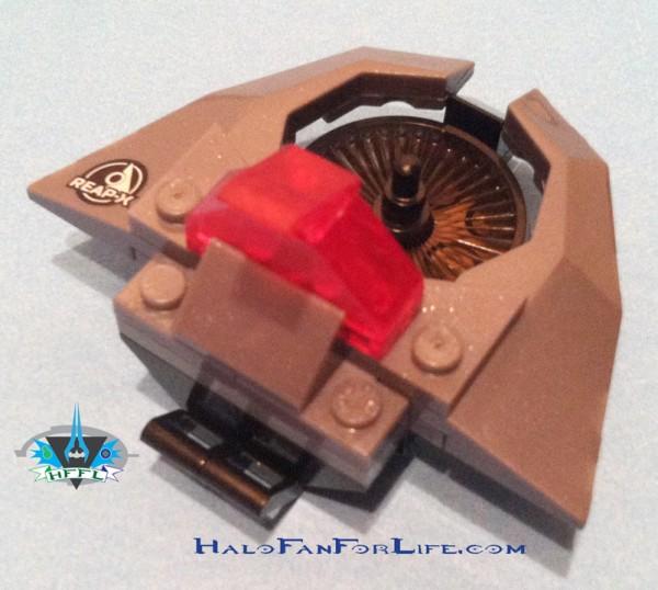 UNSC Light VTOL Tail assembly