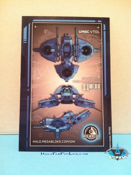 UNSC Light VTOL ortho card