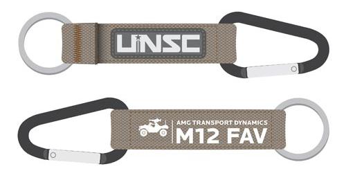 UNSC Warthog Keychain