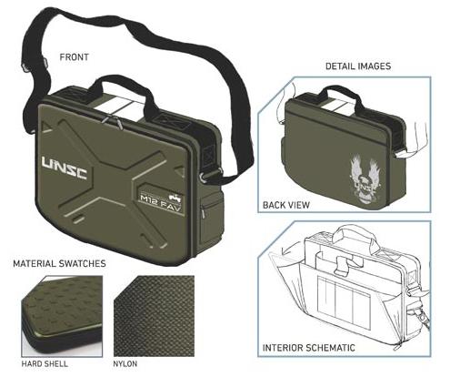 UNSC Warthog messenger bag