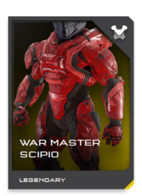 WAR MASTER-class armor is a de-facto standard among the elite Headhunters: Spartan-IV covert operatives tasked with sabotage, counterinsurgency operations, and strategic reconnaissance.