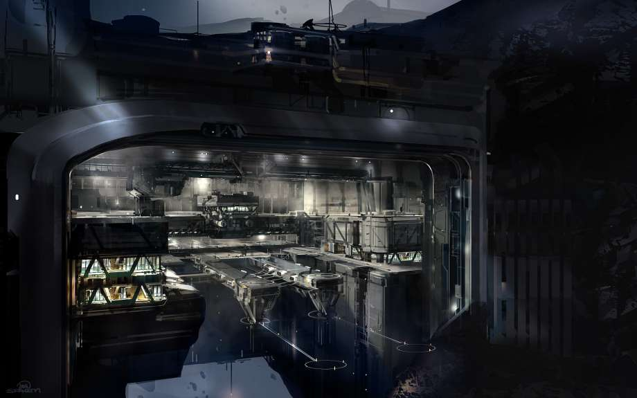 unsc space station huge - photo #8