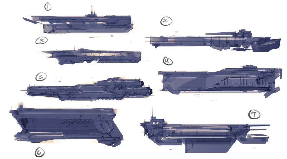 Concept Art Halo Covenant Weapons