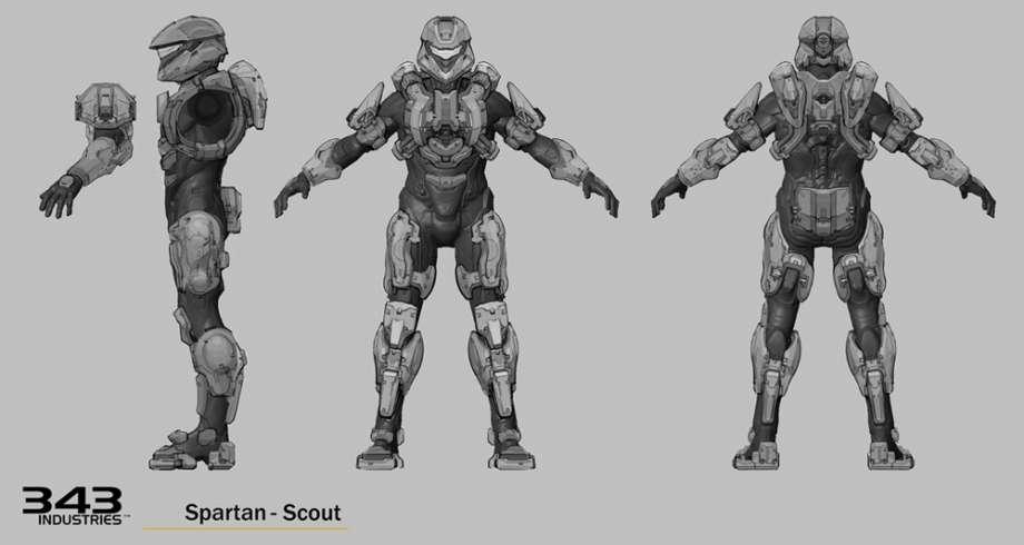 Halo Concept Art: Halo 4 Spartan Armor | HaloFanForLife