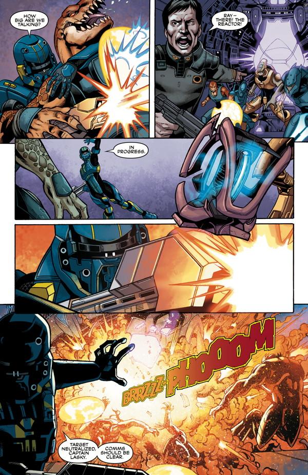 Halo Escalation #3 pre-view  (comic book) | HaloFanForLife