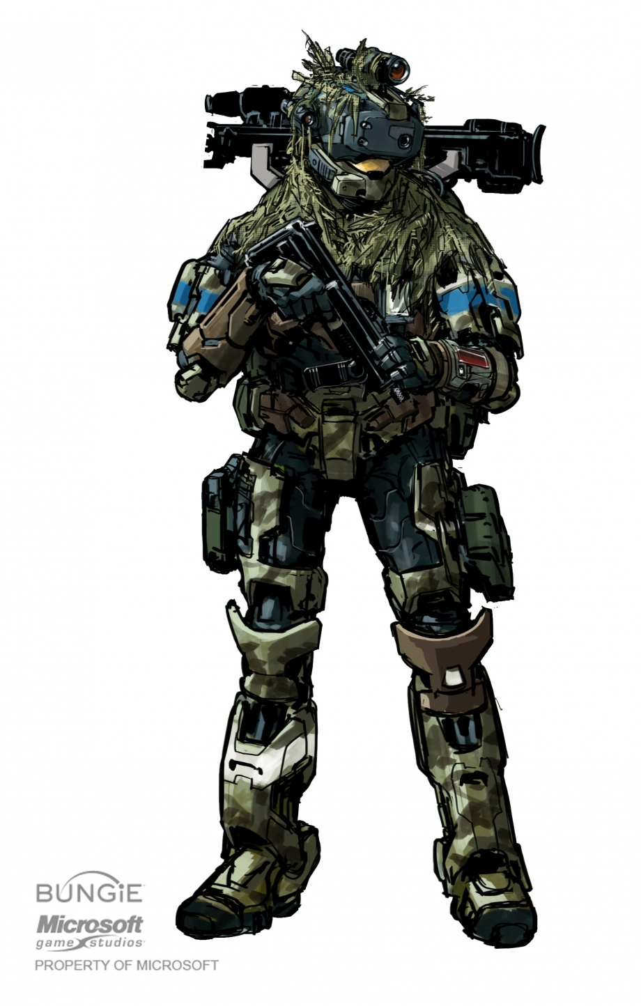 Halo Concept Art: Reach – Noble Team | HaloFanForLife