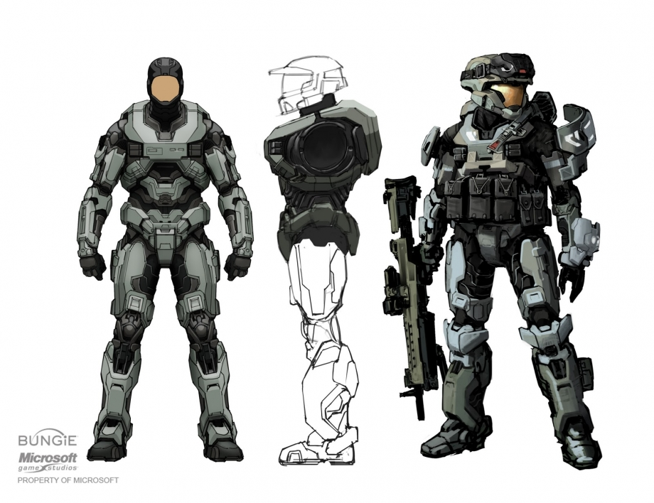 Using my halo 5 armor + Photoshop, I created a defense of ...