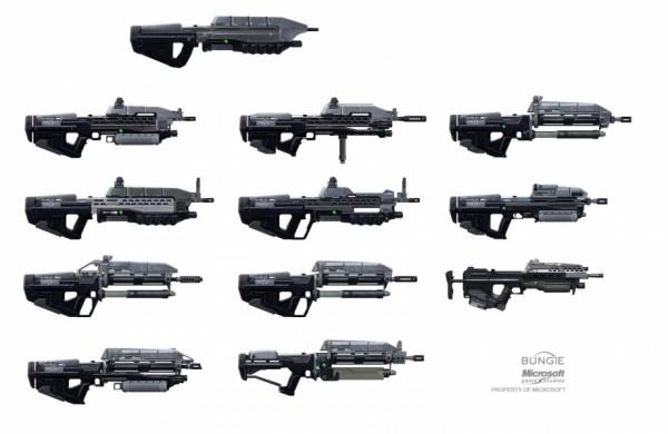 Halo Weapon Concept Art
