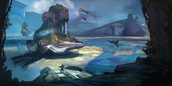 Halo Fest: Halo 4 Concept Art Glimpse - YouTube
