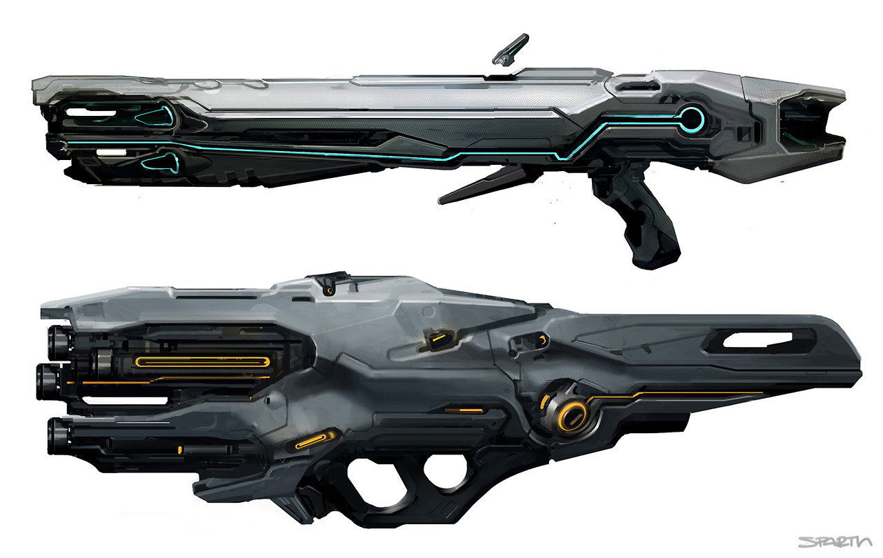 do the Forerunner weapons Halo Weapons